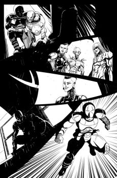 Another Page from Superior Foes of Spider man 11 by NunoPlati
