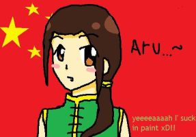 Yao made in paint by Arisa-desu