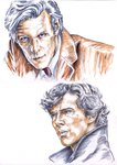 The Doctor and Sherlock by louisesaunders