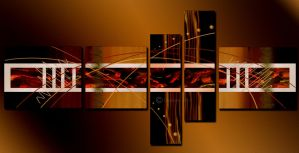 Abstract(Digital Painting) by chamirra