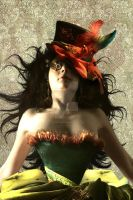 Steampunk Ivy close up by Toefje-Kunst