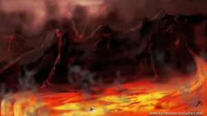Mustafar Enviorment 1 by DarthTemoc