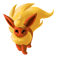 Flareon by Mewitti