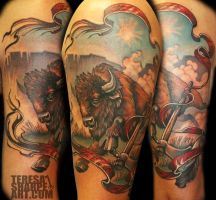 Native American Heritage tattoo by Phedre1985