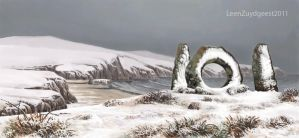 The Men-an-Tol by LeenZuydgeest