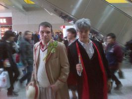 The Two of Five Doctors by M4X1LL10N