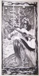 Boy and His Guitar: An Etching by Electrikshock