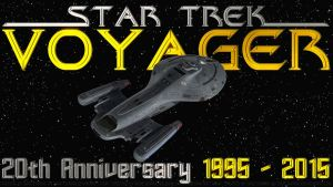 Star Trek Voyager 20th Anniversary by Dave-Daring