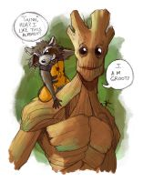 I Am Groot by BlackArachnid