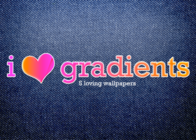 I Love Gradients by Flarup