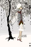 Christmas Bead Dress 2 by LadyIlona1984