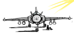 [JetFighter] [01] by Endless-warr