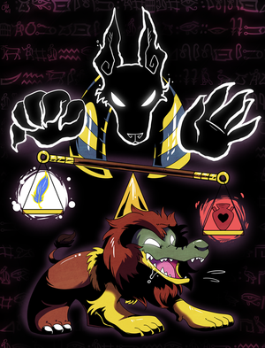 Anubis and Ammit