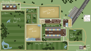 Winchester Kennel Map by CanineConspiracy