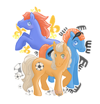 The Boys of My Little Pony Tales by ChibiWorks