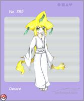 pkmn gijinka_jirachi by blackwinged-neotu