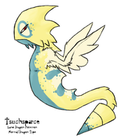 Tsuchsparce +Fakemon+ by Coloursfall