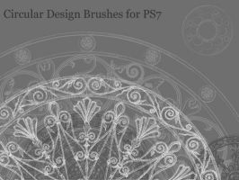 Circular Design Brushes PS7 by seneschal