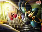 kirby VS Nightmare by Blopa1987