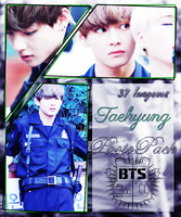 TaeHyung (V) - BTS {PhotoPack} - OO7 by JuniMeii