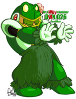 DWN26 ToadMan by ApplesRockXP