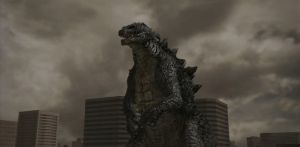 Godzilla the Video Game: Hollywood Godzilla by sonichedgehog2