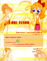 Anni Flynn Journal Skin by DBluver
