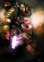 Plague Champion speedpaint by UltimaFatalis