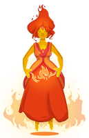 Flame Princess by Eliket
