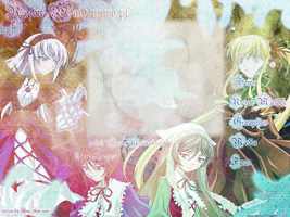Layout with Rozen Maiden by Suigintou-Doll