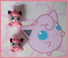 Chibi-Charms: Pokemon Jigglypuffs by MandyPandaa