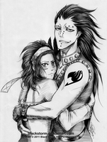 Fairy Tail: Gajeel x Levy by blackstorm