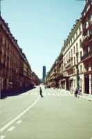 Parisian Street by Jhny-heat