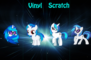 Vinyl Scratch Timeline by hxcravers