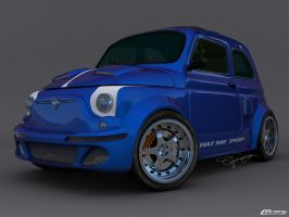 Fiat 500 Tunning by cipriany