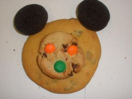 Mickey Mouse Cookie by PrincessBetty1