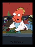 Dr Zoidberg in a Bin - Colour by Nikki-1986