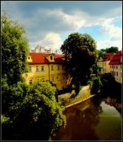 Prague, Vltava River II by TheAppleScientist