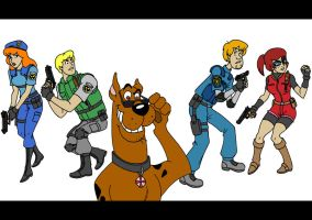 Scooby doo X Resident evil by taresh