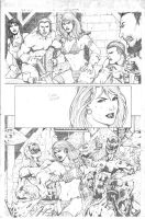 Red Sonja Sample page 03 by MarkMarvida
