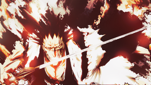 Zaraki Kenpachi Bleach Wallpaper by Nagamii-Chan