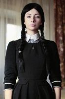 Me as Wednesday Addams by October-Sunshine