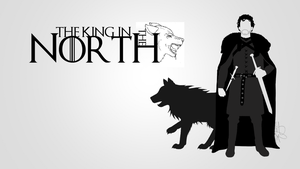 The king in the North Wallpaper by Simon93-ITA