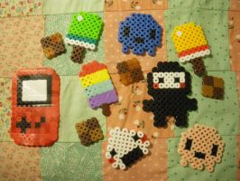 perler bead trial one by seadworp