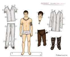True blood - Godric paper doll by Deerane