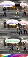 Johnny Cage tries some Chaosrealmian booze by Simony17y