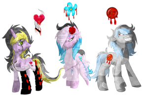 HftC: BloodSong, BloodBlossom, and DeathBreaker by AmzyTheChangeling