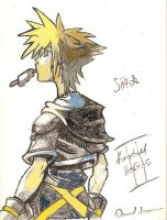Sora Kh2 colored by niggyd