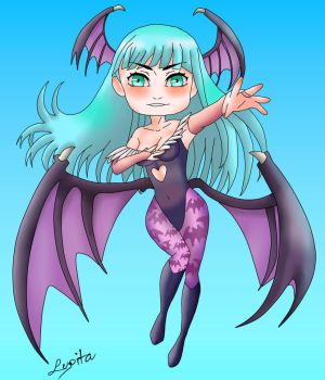Morrigan by noradrawing2