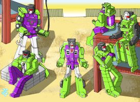 Transformers - Constructicons by JP-V